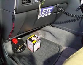 タクシー車内除菌対策